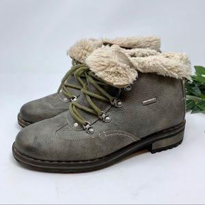 Josef Seibel Waterproof Sherpa Lined Ankle Boot 39